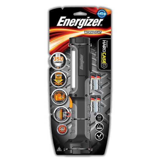 Energizer Hardcase Pro Worklight LED 350 Lumens Magnetic Ref 639825