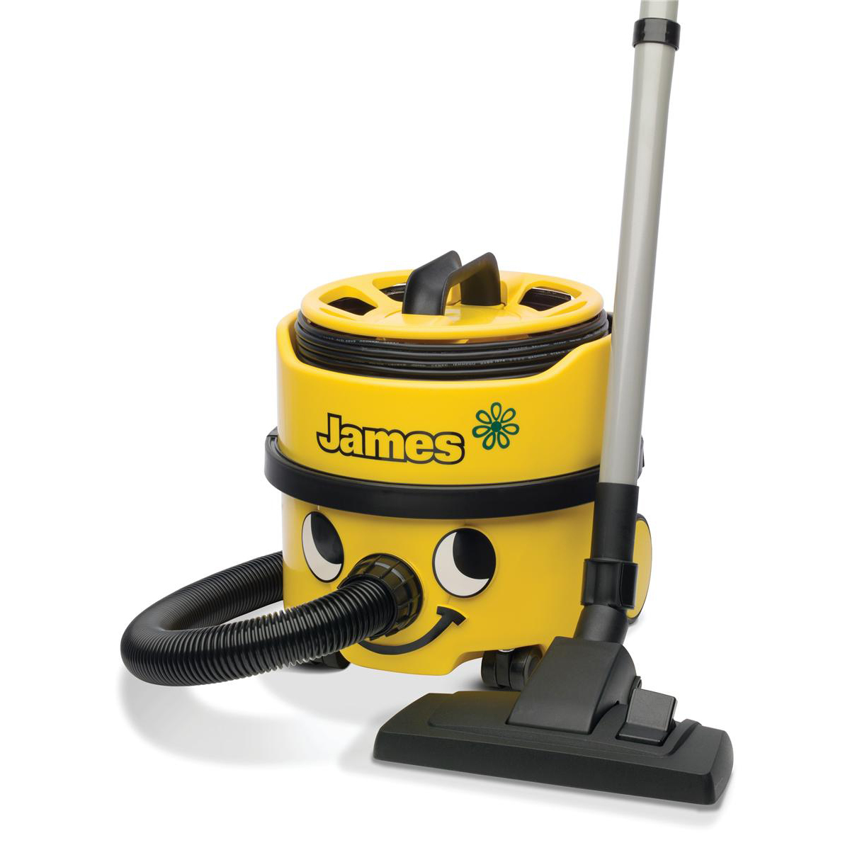 Numatic James Vacuum Cleaner 500-800W 8 Litre 7Kg Yellow Ref JVP180-11
