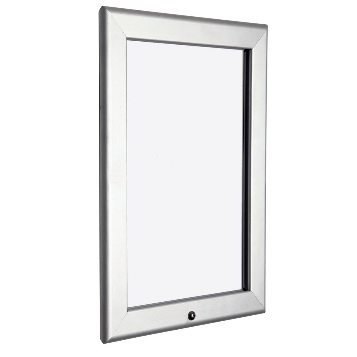 Snap Frame Locking Feature with Allen Key and Screws Front-loading A3 355x20x475mm Silver