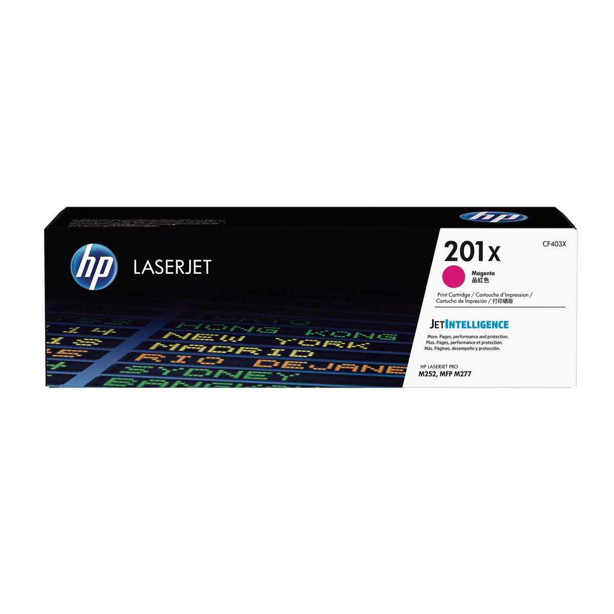 Image for HP 201X Laserjet Toner Cartridge High Yield Page Life 2300ppMagenta Ref CF403X