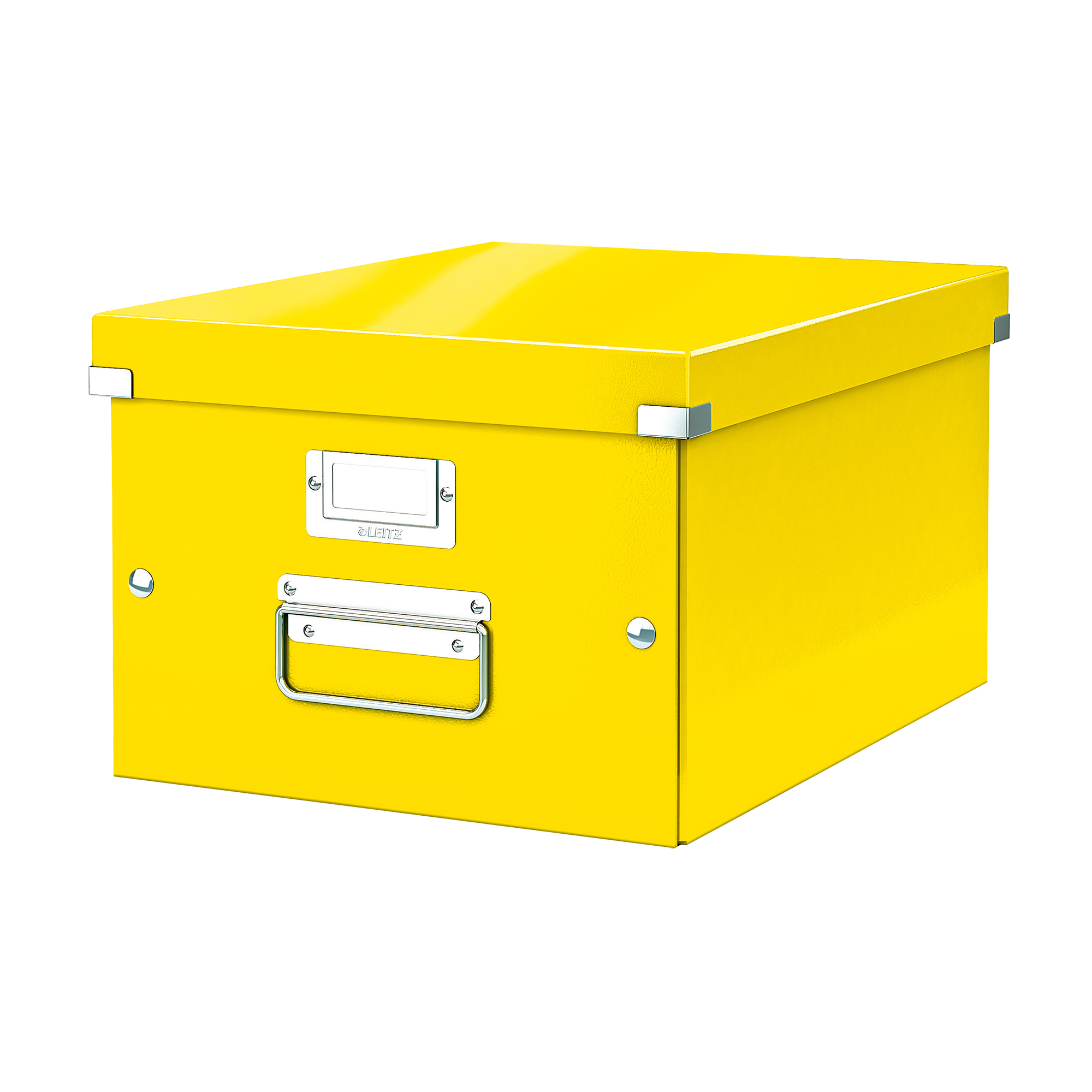 Tool Boxes Leitz Click & Store Collapsible Storage Box Medium For A4 Yellow Ref 60440054