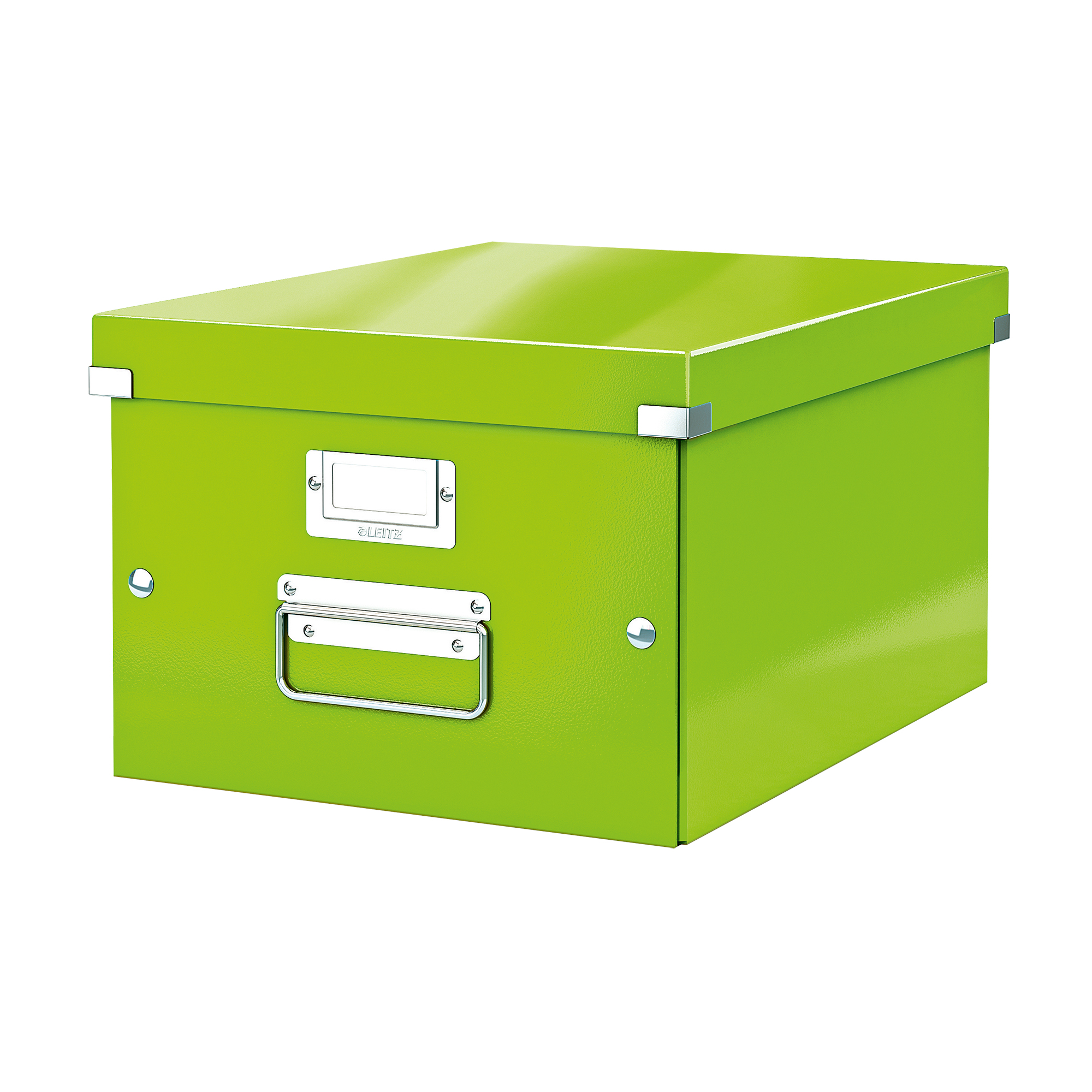 Tool Boxes Leitz Click & Store Collapsible Storage Box Medium For A4 Green Ref 60440054