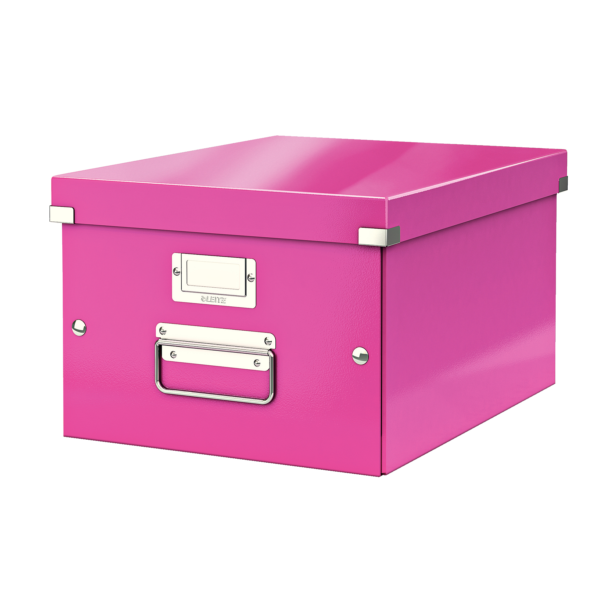 Tool Boxes Leitz Click & Store Collapsible Storage Box Medium For A4 Pink Ref 60440023