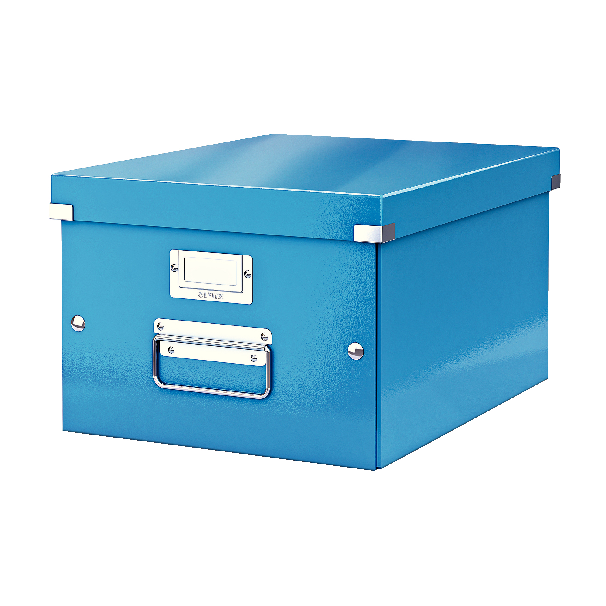 Tool Boxes Leitz Click & Store Collapsible Storage Box Medium For A4 Blue Ref 60440036