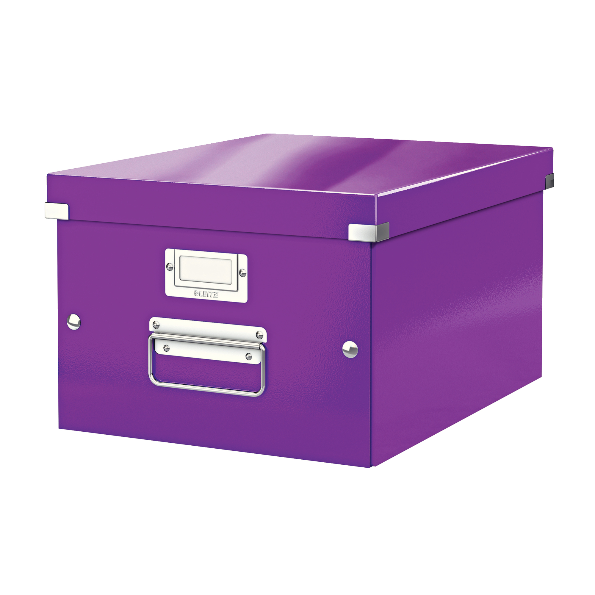 Tool Boxes Leitz Click & Store Collapsible Storage Box Medium For A4 Purple Ref 60440062