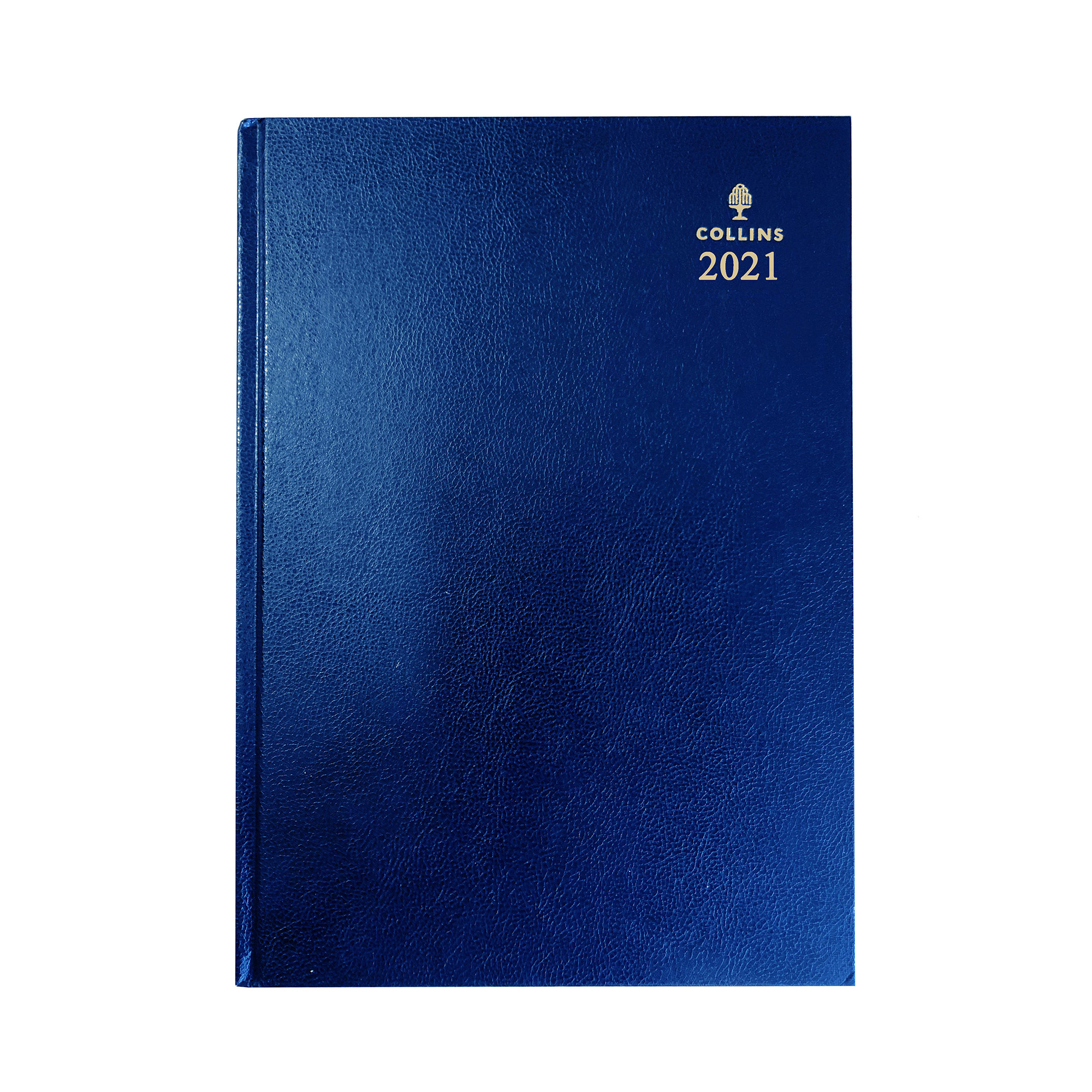 Diaries or refills Collins 2021 Royal Desk Diary Day to Page Sewn Binding A5 210x148mm Blue Ref 52 Blu 2021