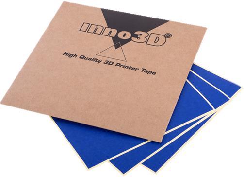 Inno 3D Print Support Tape 100x100mm Ref 3DP-SPLV-B012 [Pack 10]
