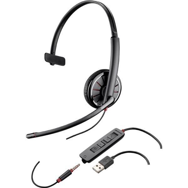 Plantronics C315 Blackwire Headset Features Sound Guard Ref 204440-02