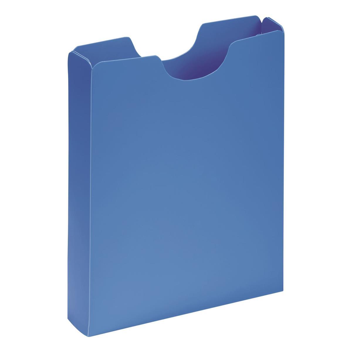 Pagna Carry Case Polypropylene A4 Light Blue Ref 2100513 [Pack 10]