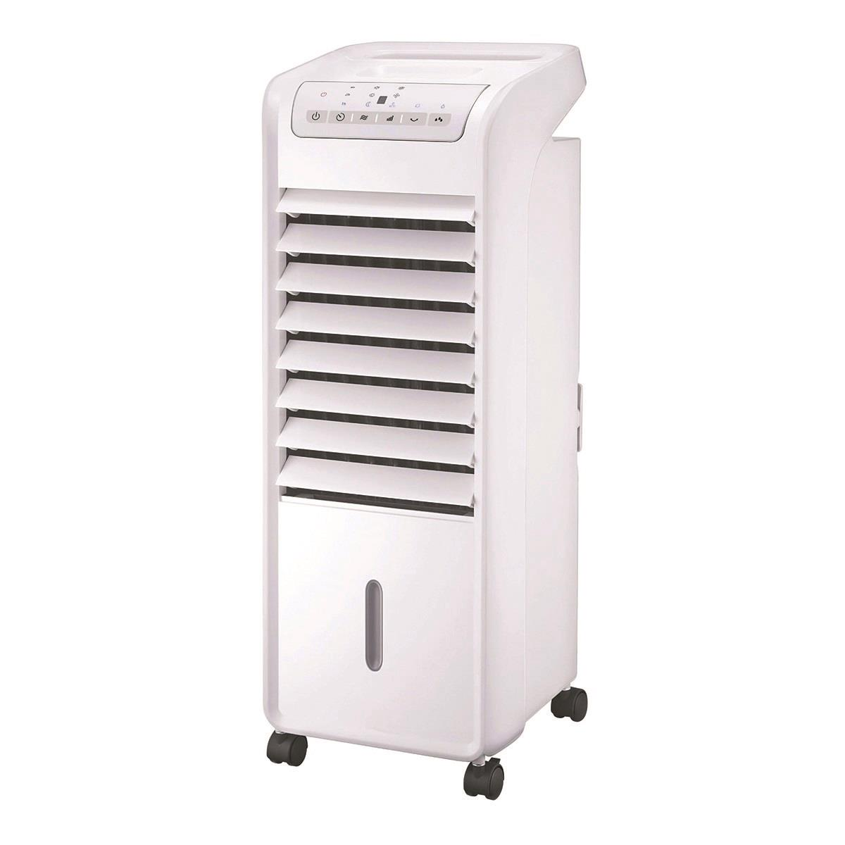 Air Cooler 55W Oscillation Function Timer Remote Control White