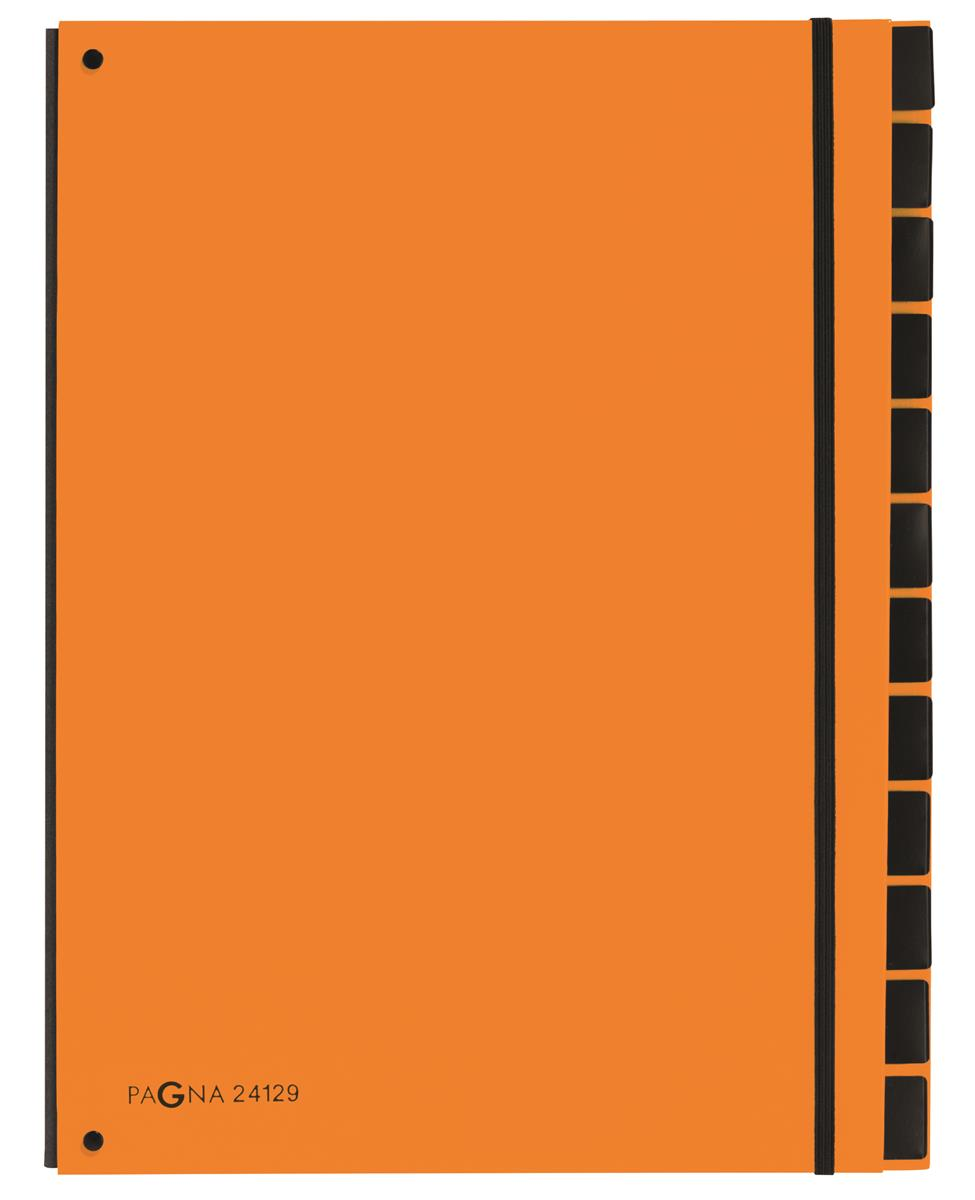 Pagna Master Organiser 7 Part A4 Orange Ref 2412909 [Pack 10]