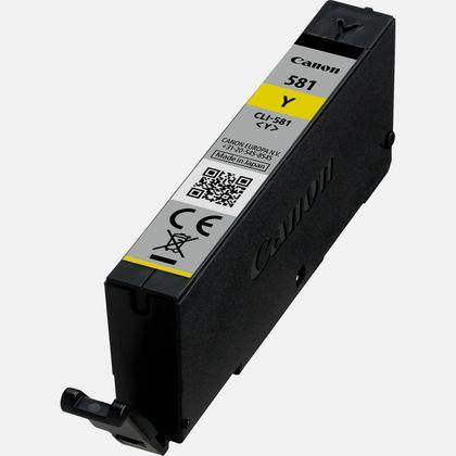 Canon CLI-581 Inkjet Cartridge Page Life 259pp Yellow Ref 2105C001