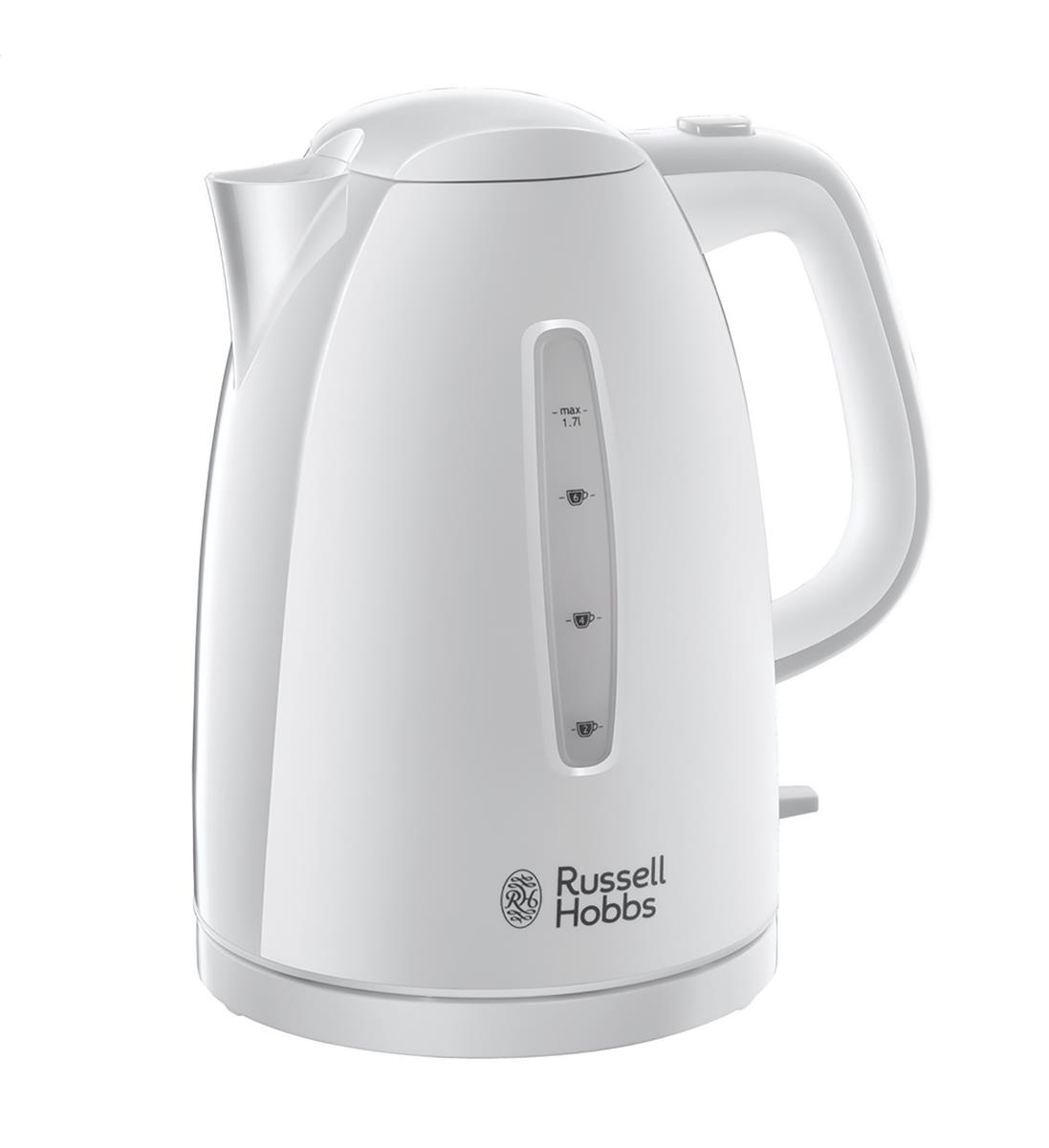 Brabantia Kettle 1.7L 3000W 360 Degrees Rotation Auto-off Safety Lid White Ref RH2127