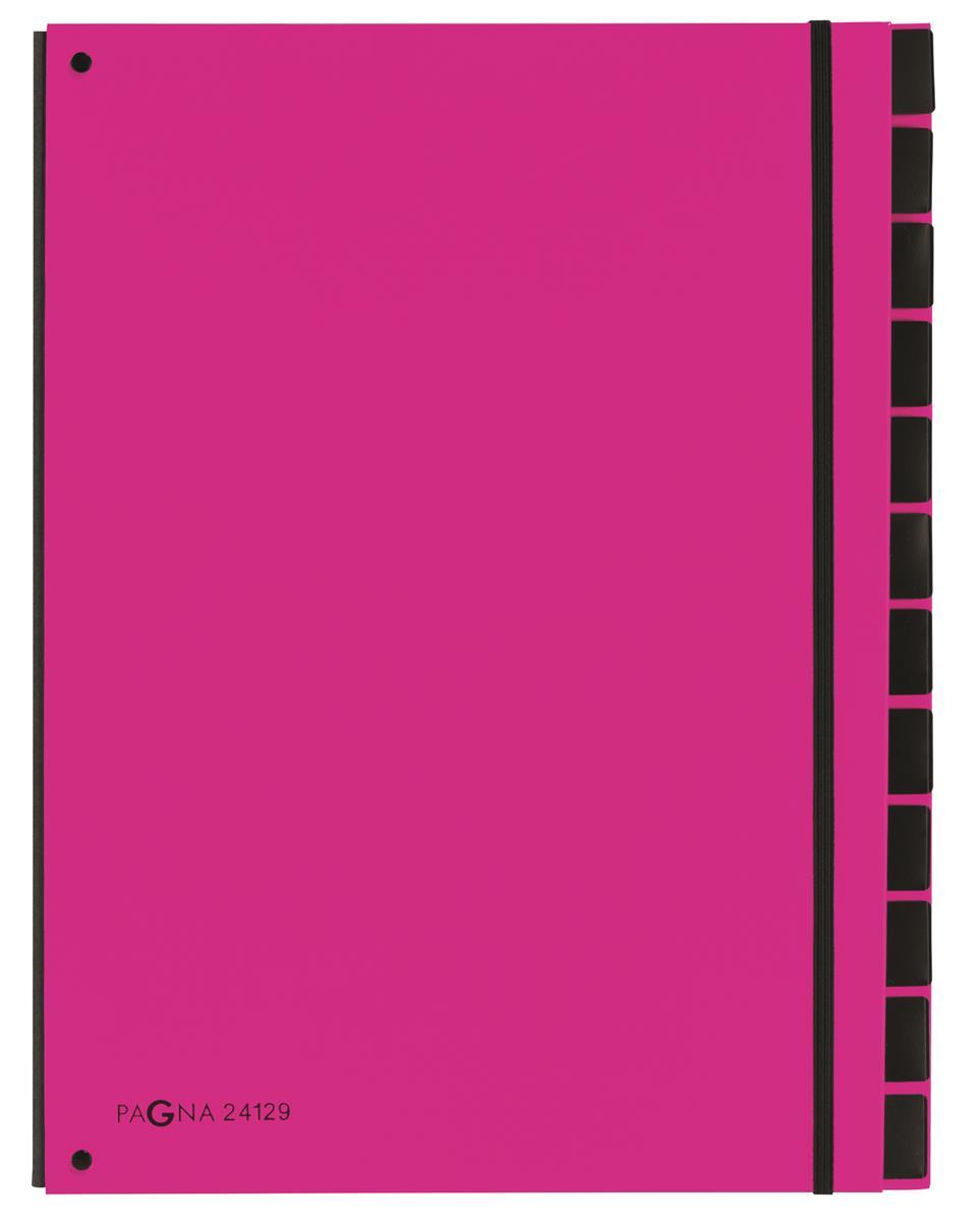 Pagna Master 7 Part Organiser A4 Pink Ref 2412934