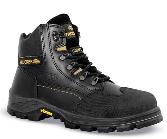 Aimont Revenger Safety Boots Protective Toecap Size 11 Black Ref 7TR0611 [Pair]