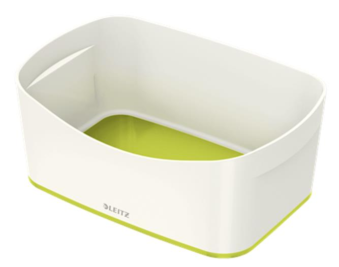 Leitz MyBox Storage Tray ABS Material A5 W246xD98xH160mm White/Green Ref 52571064