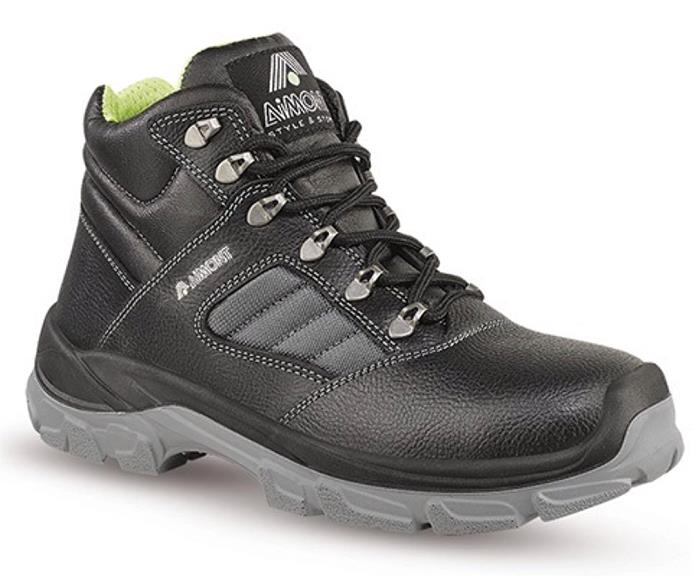 Aimont Rhino Safety Boots Protective Toecap Size 7 Black Ref DYC0507 [Pair]