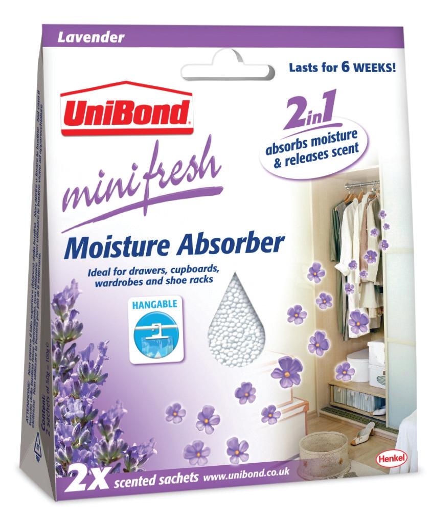 Unibond Mini Moisture Absorber Citrus Ref 2262195