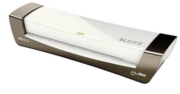Leitz iLam Office Laminator Up To 125 Microns 1min Warm-up Time A4 Silver Ref 72511084