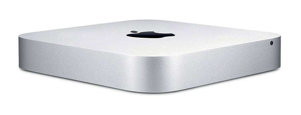 Apple Mac Mini Mac OSX Wi-Fi 8GB RAM 1TB Hard Drive Four USB Ports Silver Ref MGEN2B/A