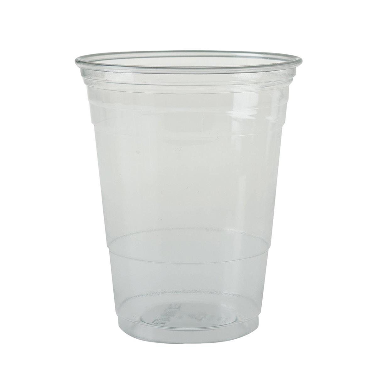 Solo Tumbler Plastic Crack-resistant 16oz Clear Ref TR16 [Pack 50]