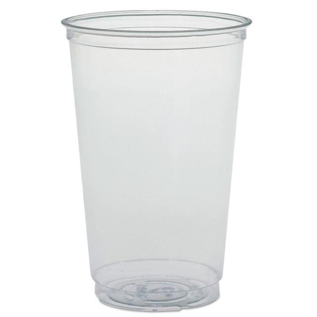 Solo Tumbler Plastic Crack-resistant 20oz Clear Ref TN20 [Pack 50]