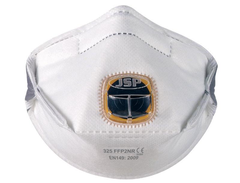 Typhoon 325 Mask FFP2 Fold-flat Typhoon-valve System Adjustable Strap Ref BEY120-201-AG1 [Pack 10]