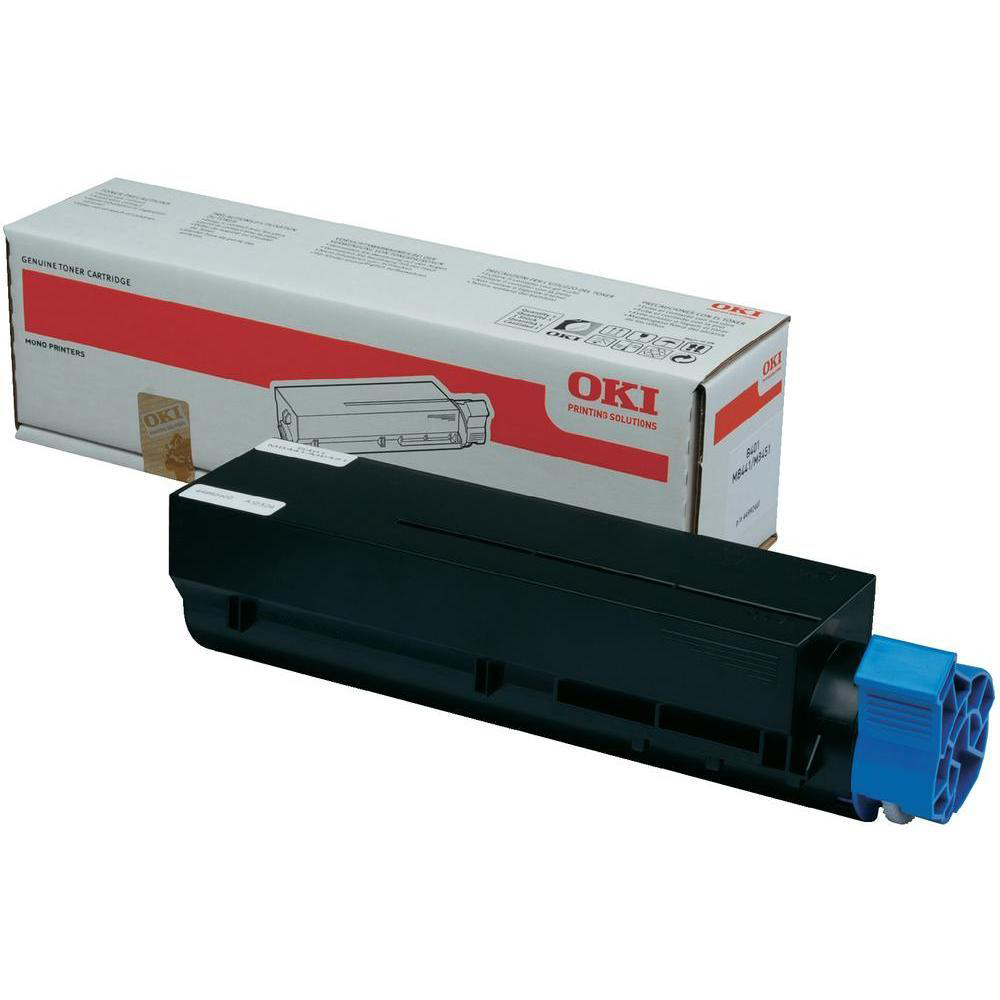 OKI Laser Toner Cartridge High Yield Page Life 2500pp Black Ref 44992402