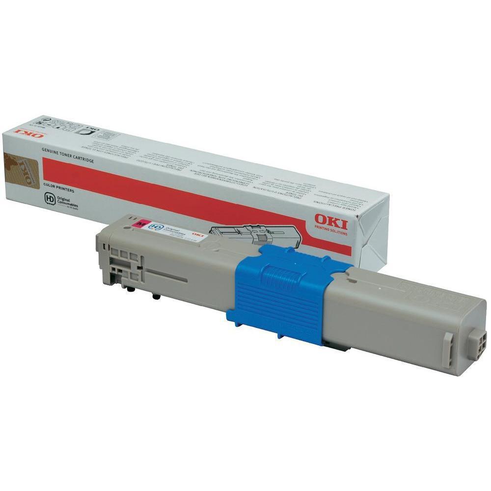 Laser Toner Cartridges OKI Laser Toner Cartridge Page Life 1500pp Magenta Ref 44973534