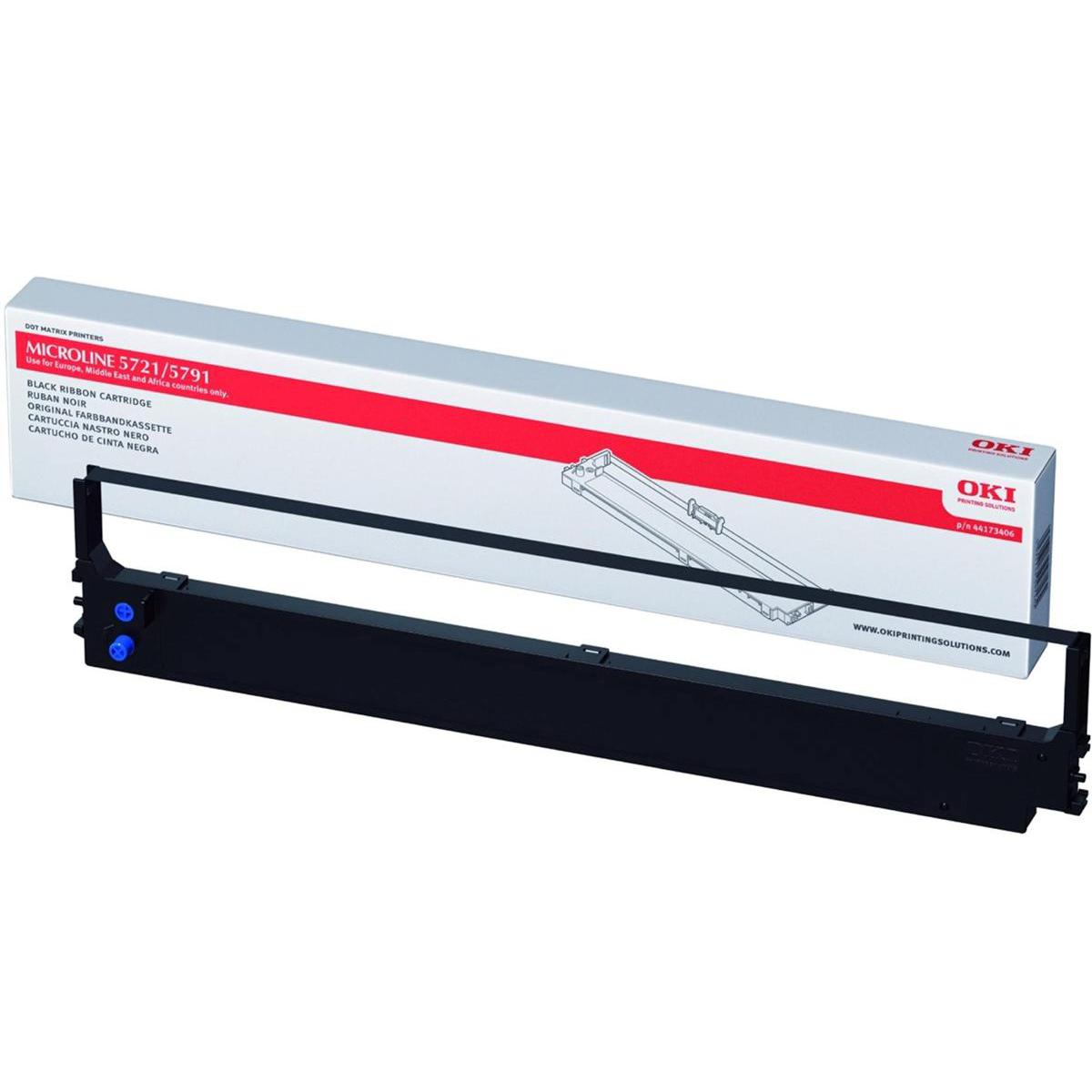OKI Ribbon Cassette Black [for ML5721/5791] Ref 44173406