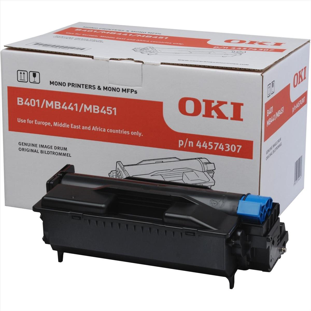 OKI Imaging Drum Unit Page Life 25000 Ref 44574307