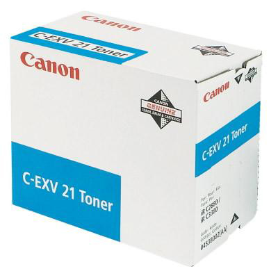 Canon CEXV21 Laser Toner Cartridge Page Life 14000pp Cyan Ref IR2880CTONER