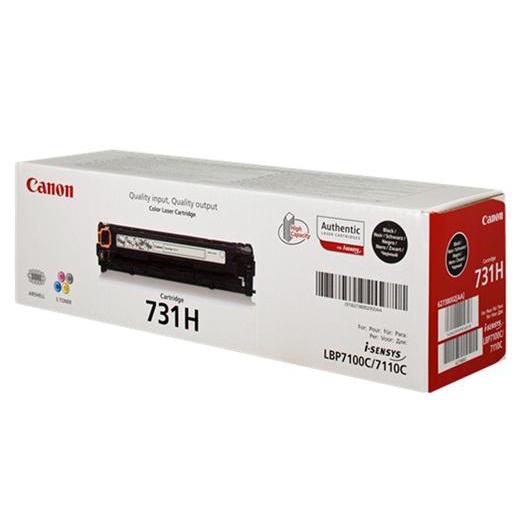 Canon 731HBK Laser Toner Cartridge High Yield Page Life 2400pp Black Ref 6273B002
