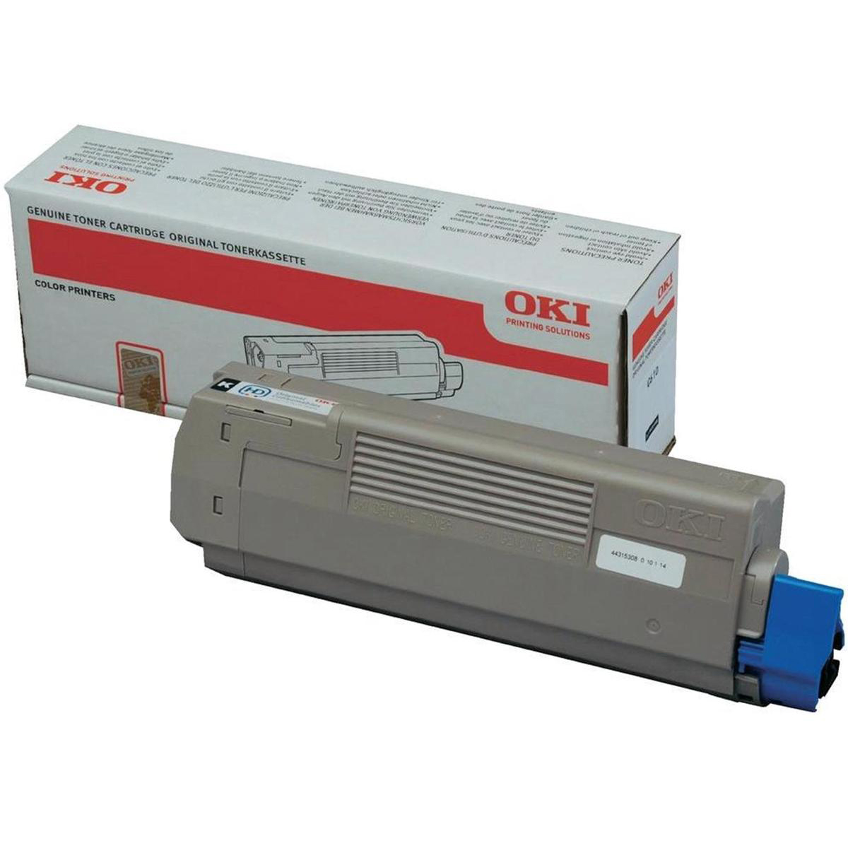 Oki C610 Toner Cartridge Page Life 8000pp Black Ref 44315308