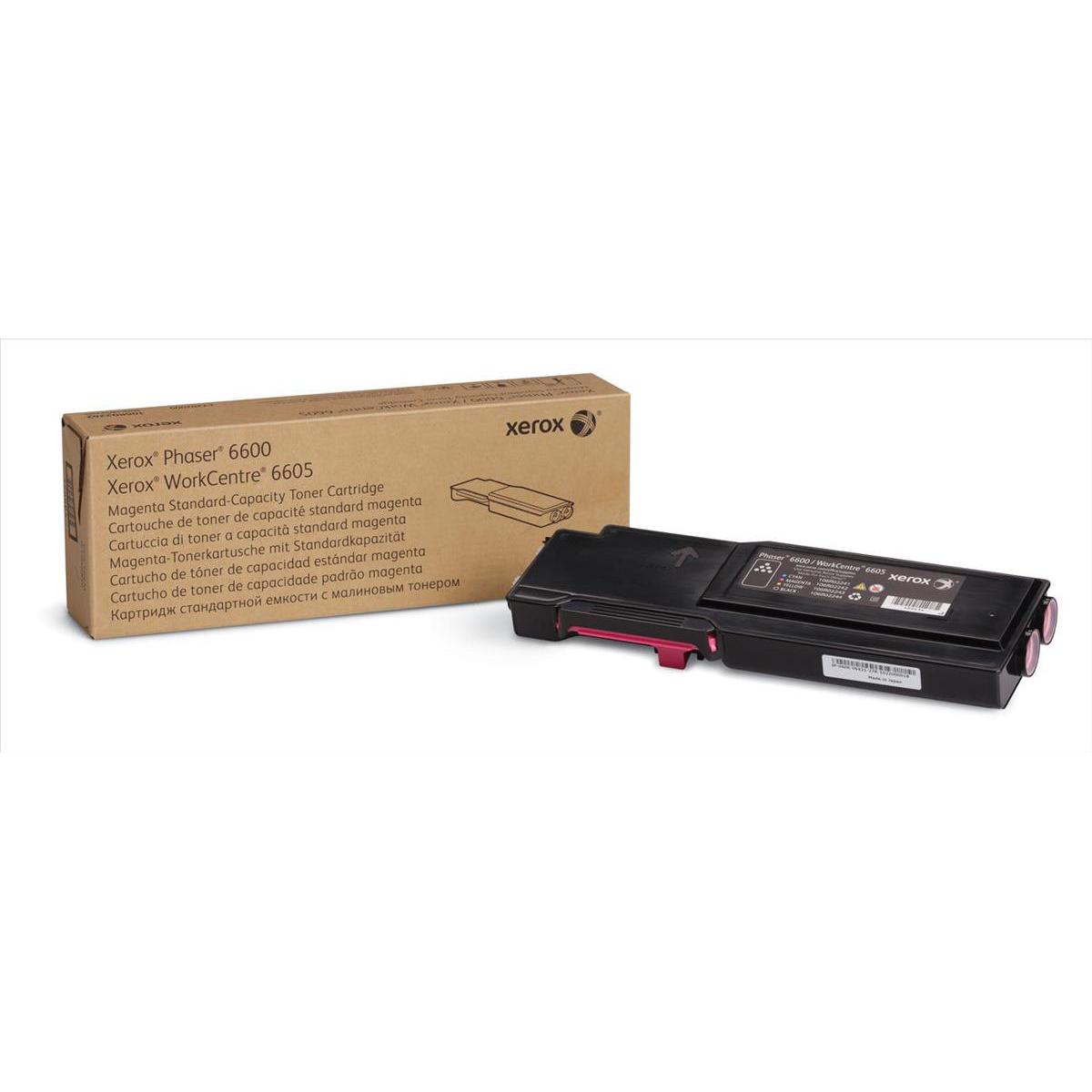 Xerox Phaser 6600 Toner Cartridge Page Life 2000pp Magenta Ref 106R02246