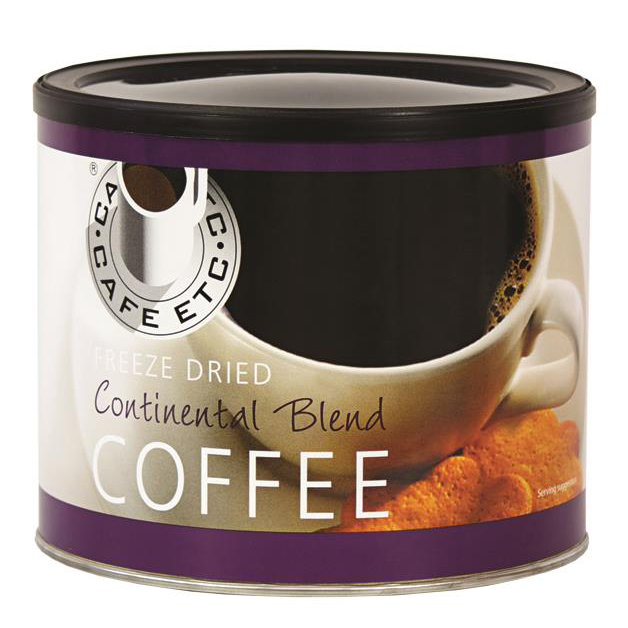 Coffee Cafe Etc Continental Blend Coffee 500g Ref ETC 026