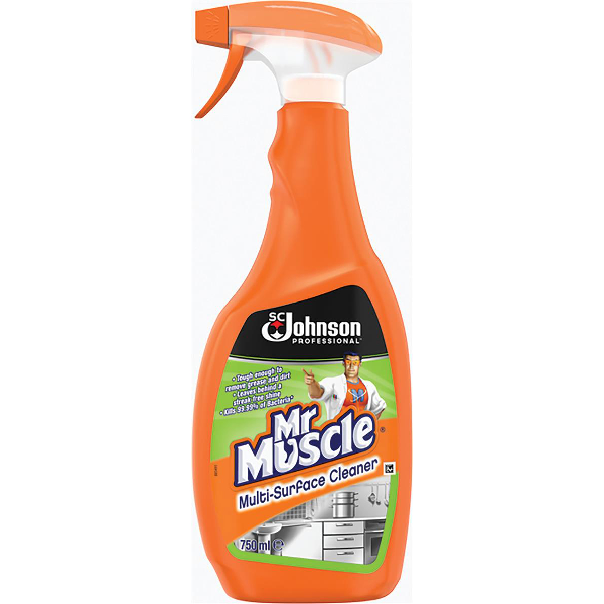 Multipurpose Cleaning Mr Muscle Multi-Purpose Surface Cleaner 750ml Ref 369678