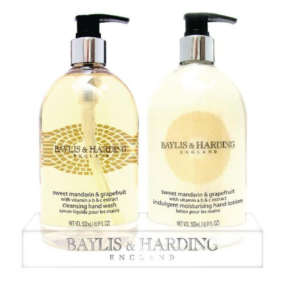 Floor Cleaning Baylis & Harding Hand Wash Set Mandarin & Grapefruit Ref 0604267