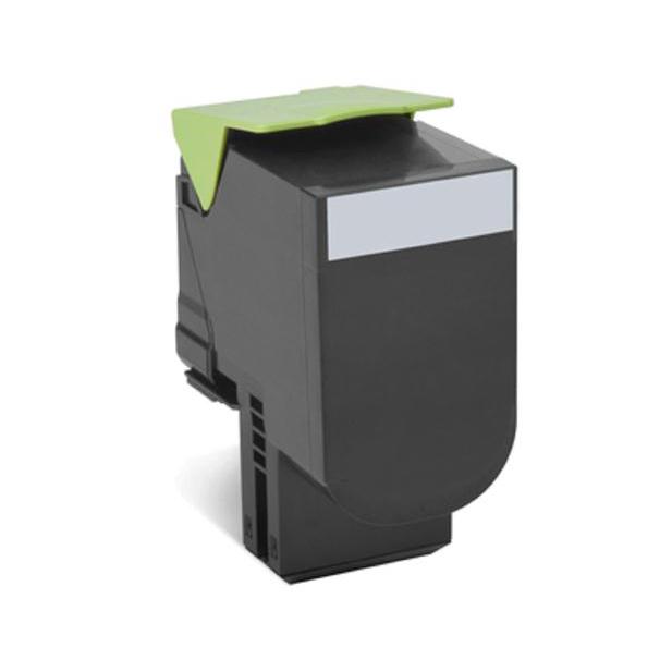 Lexmark Laser Toner Cartridge Return Program Page Life 1000pp Black Ref 70C20K00