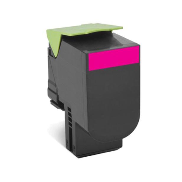 Lexmark Laser Toner Cartridge Return Program Page Life 1000pp Magenta Ref 70C20M00