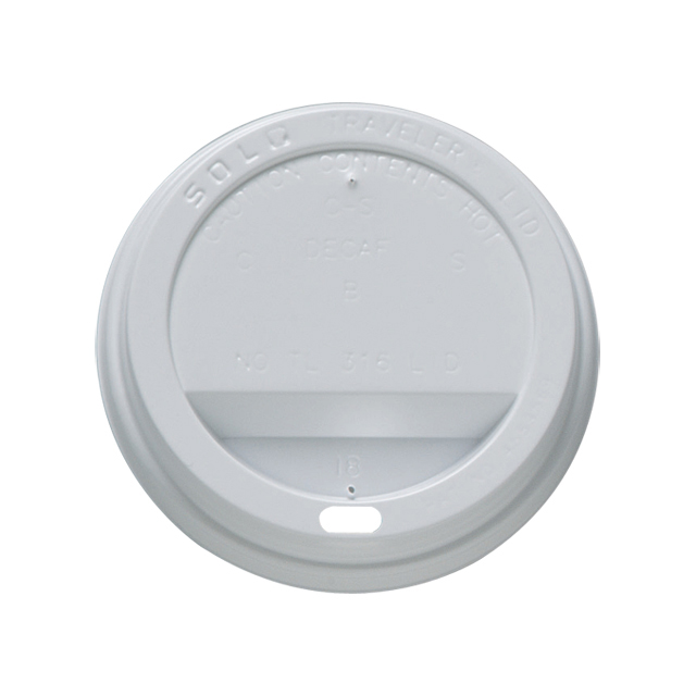 Disposable SipThru Lid 12oz White Pk1000