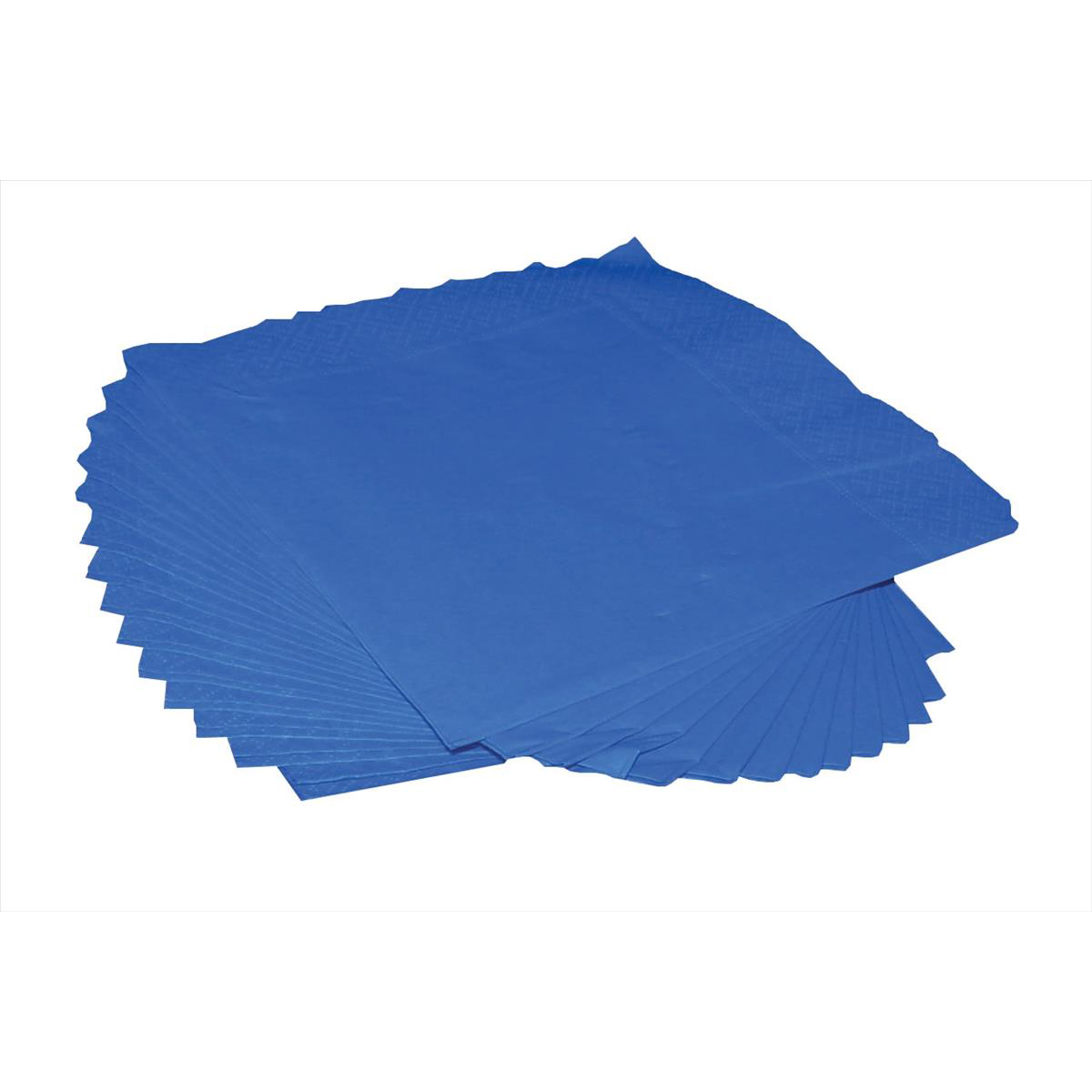 Serviettes / Napkins Napkin 2-Ply 400x400mm Royal Blue Pack 125