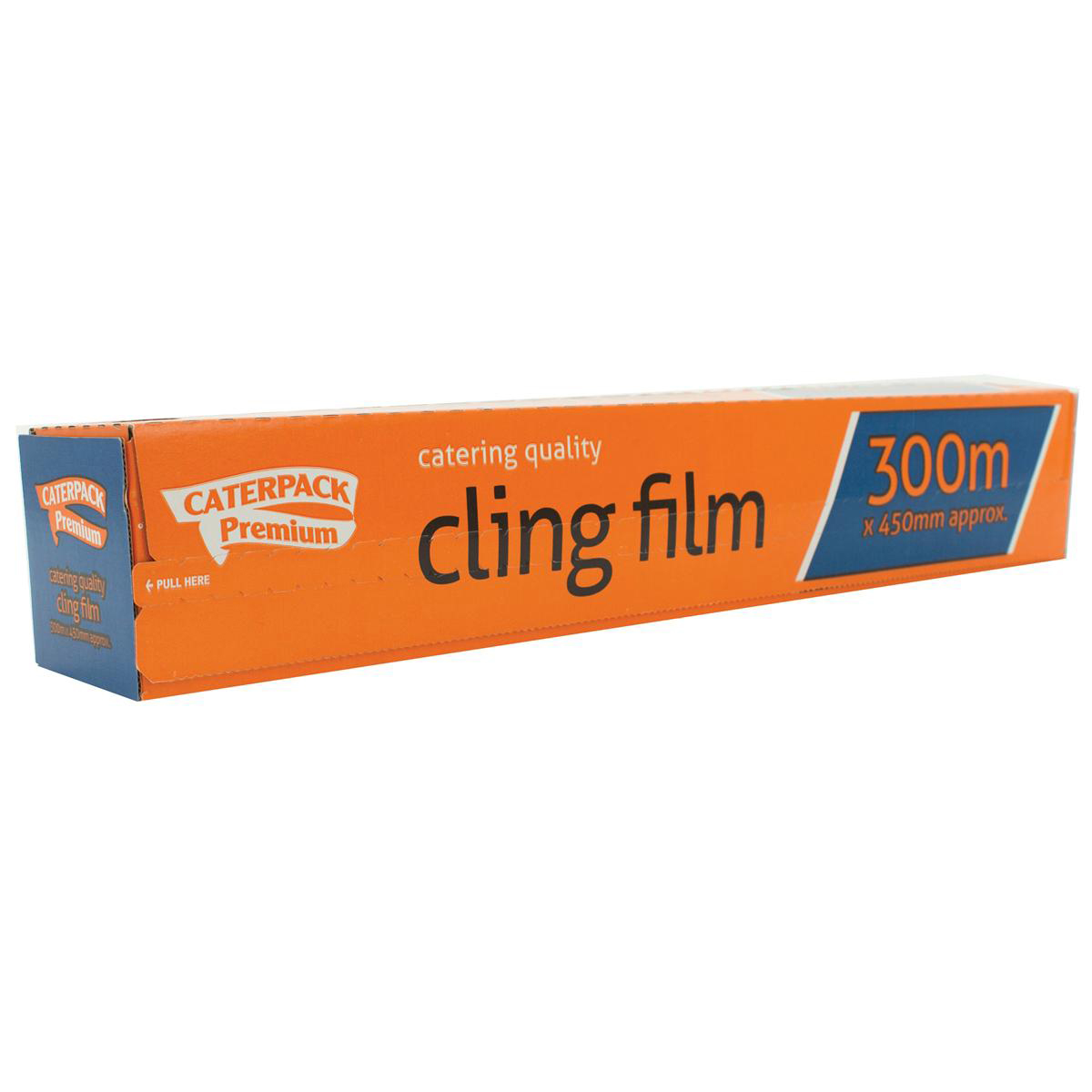 Aluminum foil Caterpack Cling Film Antibacterial 450mm x 300m Ref 0163