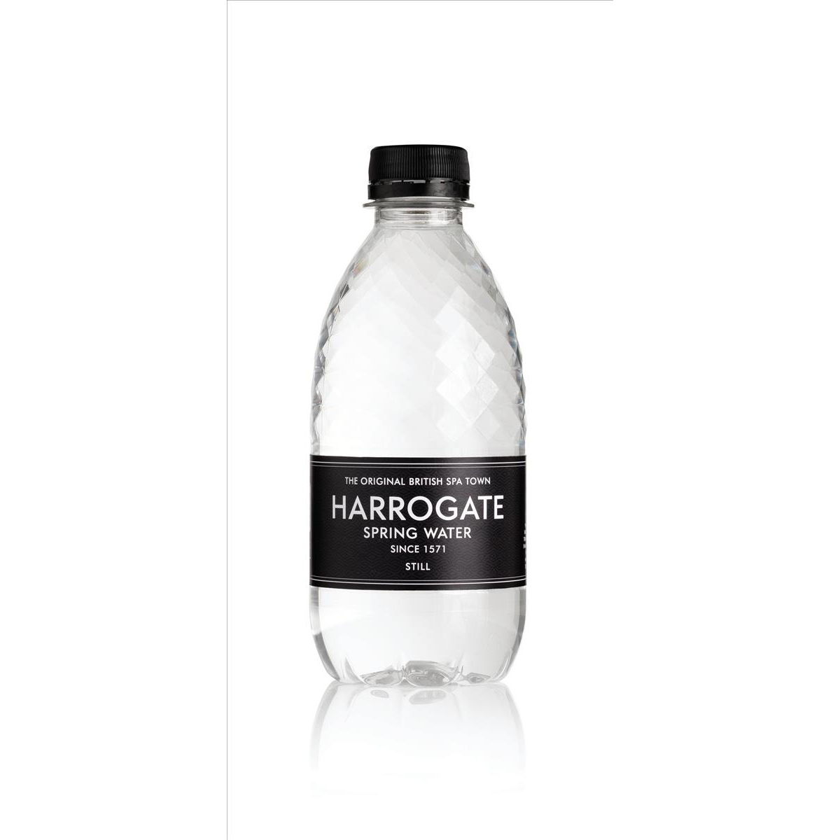 Harrogate Still Spring Water 330ml Bottle Plastic Ref P330301S [Pack 30]