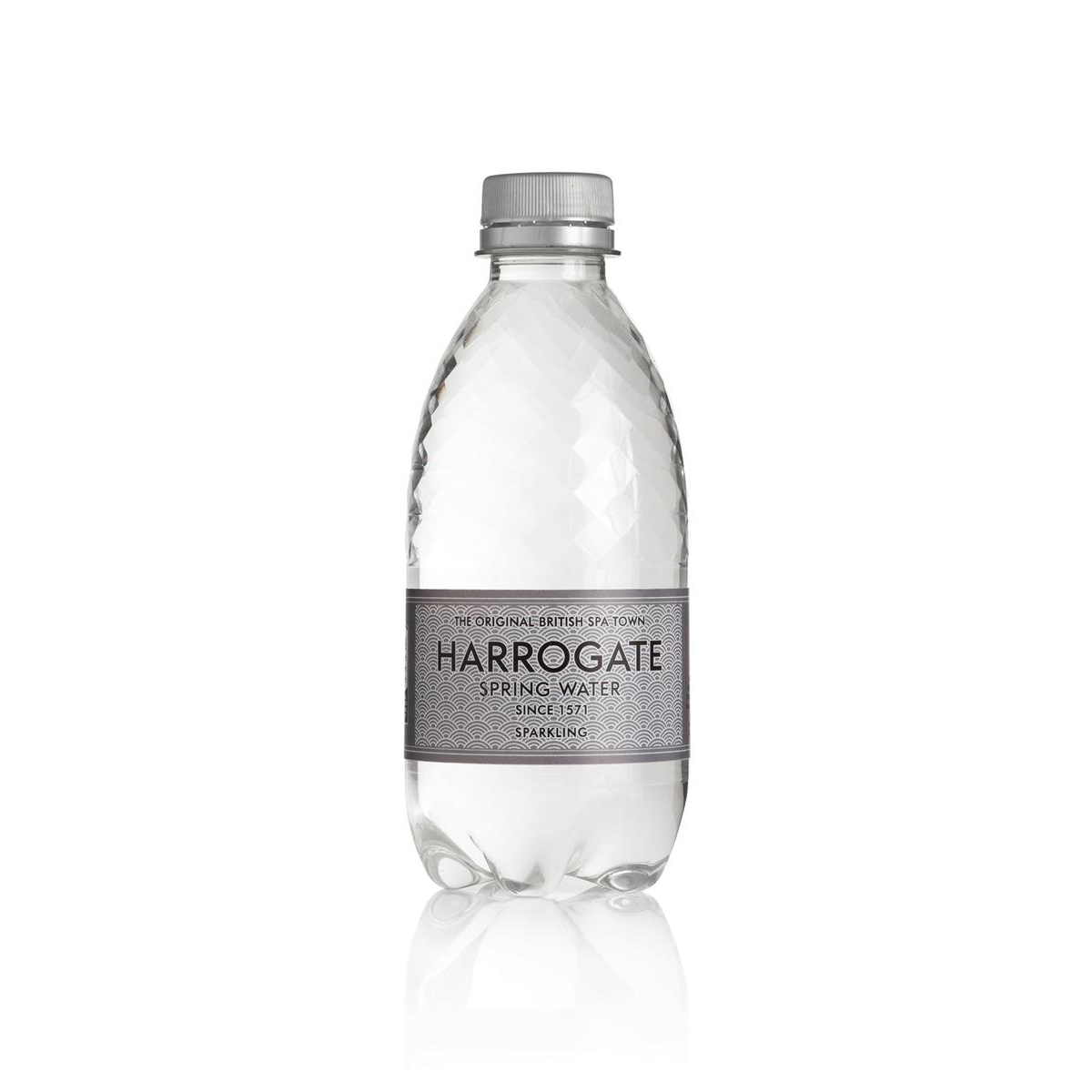 Harrogate Sparkling Water Plastic Bottle 330ml Ref P330302C Pack 30