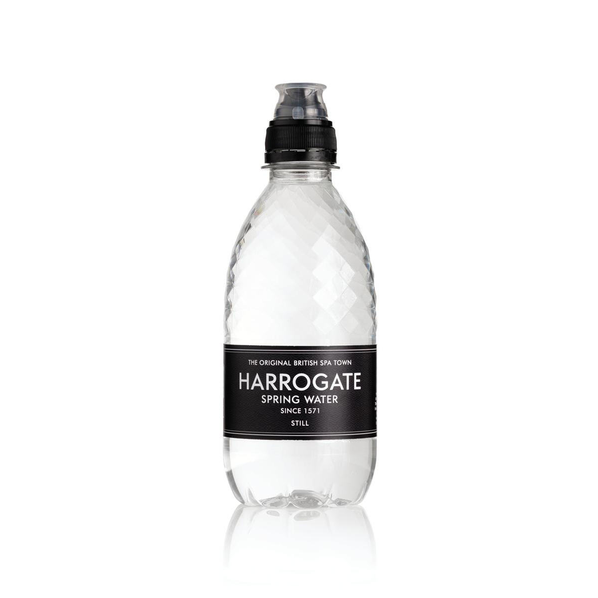 Cold Drinks Harrogate Still Water Sport Cap Plastic Bottle 330ml Ref P330303SC Pack 30