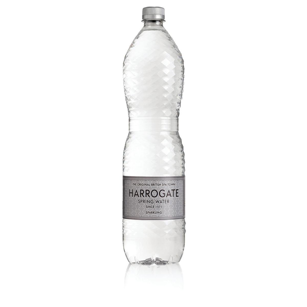 Harrogate Sparkling Water Plastic Bottle 1.5 litres Ref P150122C [Pack 12]