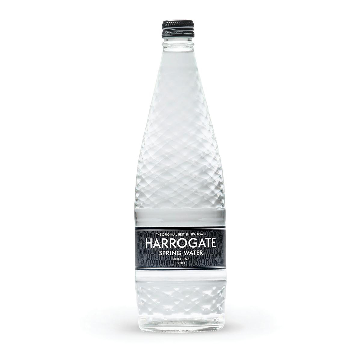 Harrogate Still Water Glass Bottle 750ml Ref G750121S [Pack 12]