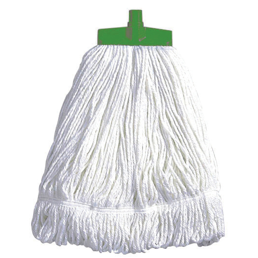 Mops & Buckets Scott Young Research Interchange Syntex Kentucky Mop Head 16oz Green Ref CM18G