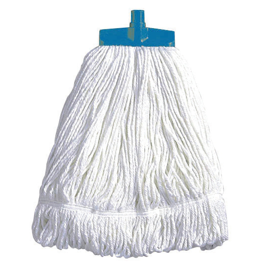 Mops & Buckets Scott Young Research Interchange Syntex Kentucky Mop Head 16oz Blue Ref CM18BL